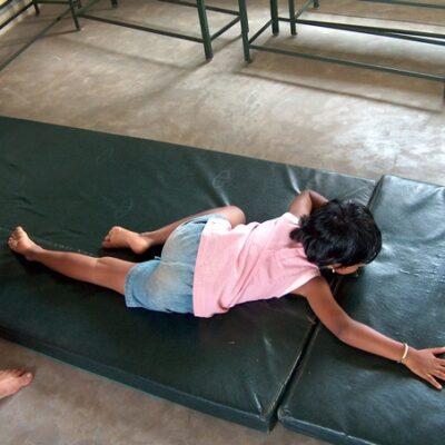 School Aruna creeping